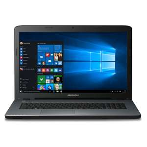 "Medion Akoya P7645 (MD 60328) für 674,10€ @ Medion - 17,3"" FullHD Notebook mit Core i7-7500U, 8GB Ram, 1,5TB HDD+128GB SSD + GeForce 940MX"