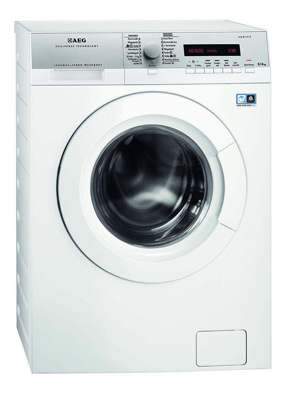[Amazon] AEG L16850A5 Waschtrockner / A / 1600 UpM / 1086 kWh / 8 kg Waschen / 4 kg Trocknen / Dampfprogramme / 1kg in 60 Min.-Programm / Aqua-Alarm / Weiß