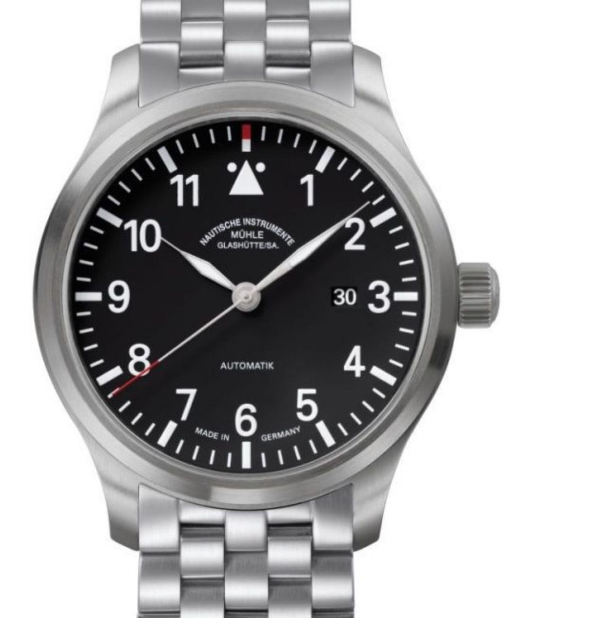 24% auf Uhren, z.B. Mühle Glashütte Terrasport mit Stahlband M1-37-34-MB 248€ unter idealo - 348€ unter Liste