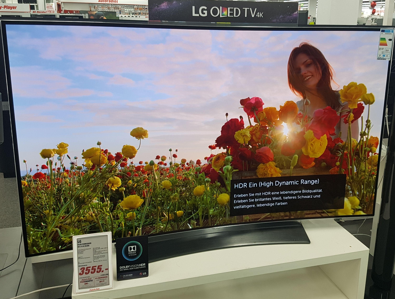LG 65C6D OLED TV [Lokal Media Markt Köln Marsdorf]