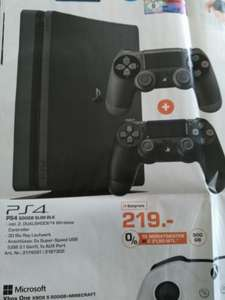 [LOKAL AUGSBURG] PS4 inkl. 2 Controller