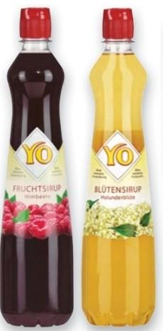 YO Fruchtsirup für 1,09€ bei Kaufland mit Couponplatz