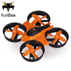 FuriBee F36 Mini RC Quadcopter (2.4GHz, 4CH, 6 Axis Gyro) für 9,50€