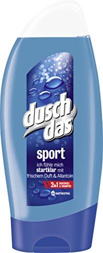 [Amazon Spar-Abo] Duschdas For Men Duschgel Sport, 6er Pack (6 x 250 ml)