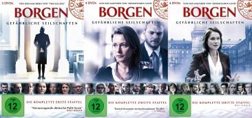 Borgen - Gefährliche Seilschaften - Staffel 1-3 (DVD)