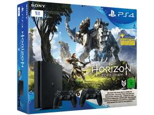 PlayStation 4 Slim 1TB + 2. Controller + Horizon: Zero Dawn