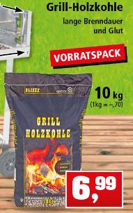 [Thomas Philipps bis 29.04.] 10 kg Grill-Holzkohle (nicht reine Buchenholzkohle)