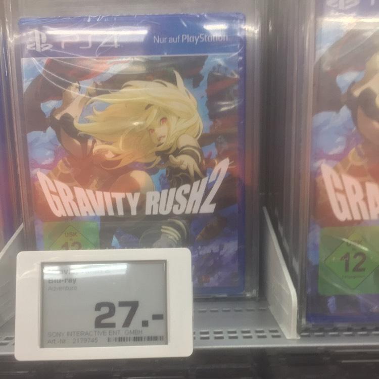 Gravity Rush 2 & The Last Guardian PS4 [Lokal Hamburg] SATURN