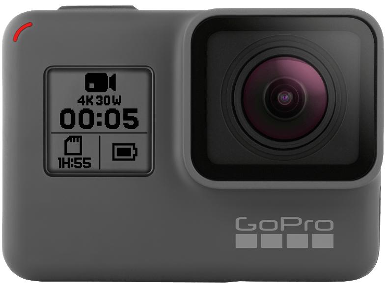 GoPro Hero 5 incl. zwei Extraakkus, Ladegerät und 32GB Speicherkarte