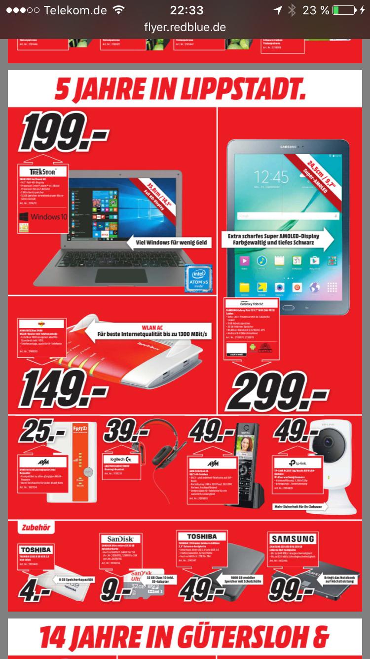 Media Markt Fritzbox 7490 für 149,00€ (lokal + Preisvergleich)