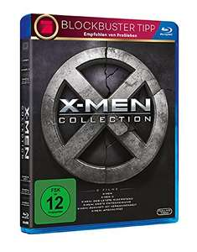X-Men Collection Boxset (Teil 1 - 6) - [Blu-Ray] - Neuware @Medimops über Amazon