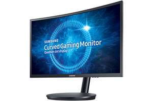 "45,60 € günstiger: Samsung CFG70 23.5"" Quantum Dot 144 Hz Freesync Gaming Monitor"