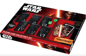Star Wars Spielkarten Collector's Set für 14,59€ (Thalia App)