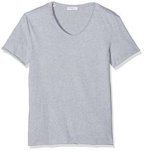 [Amazon Plus Produkt] SELECTED HOMME Herren T-Shirt  in BEIGE oder GRAU [S-XL] ab 4,23€ VGP: 19,90€