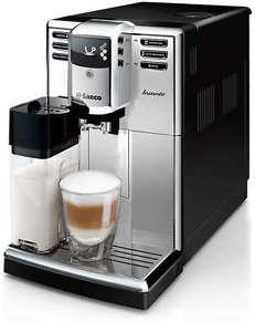 PHILIPS Saeco HD8918/21 für 299€ bei eBay - Kaffeevollautomat mit integriertem Milchaufschäumer - B-Ware