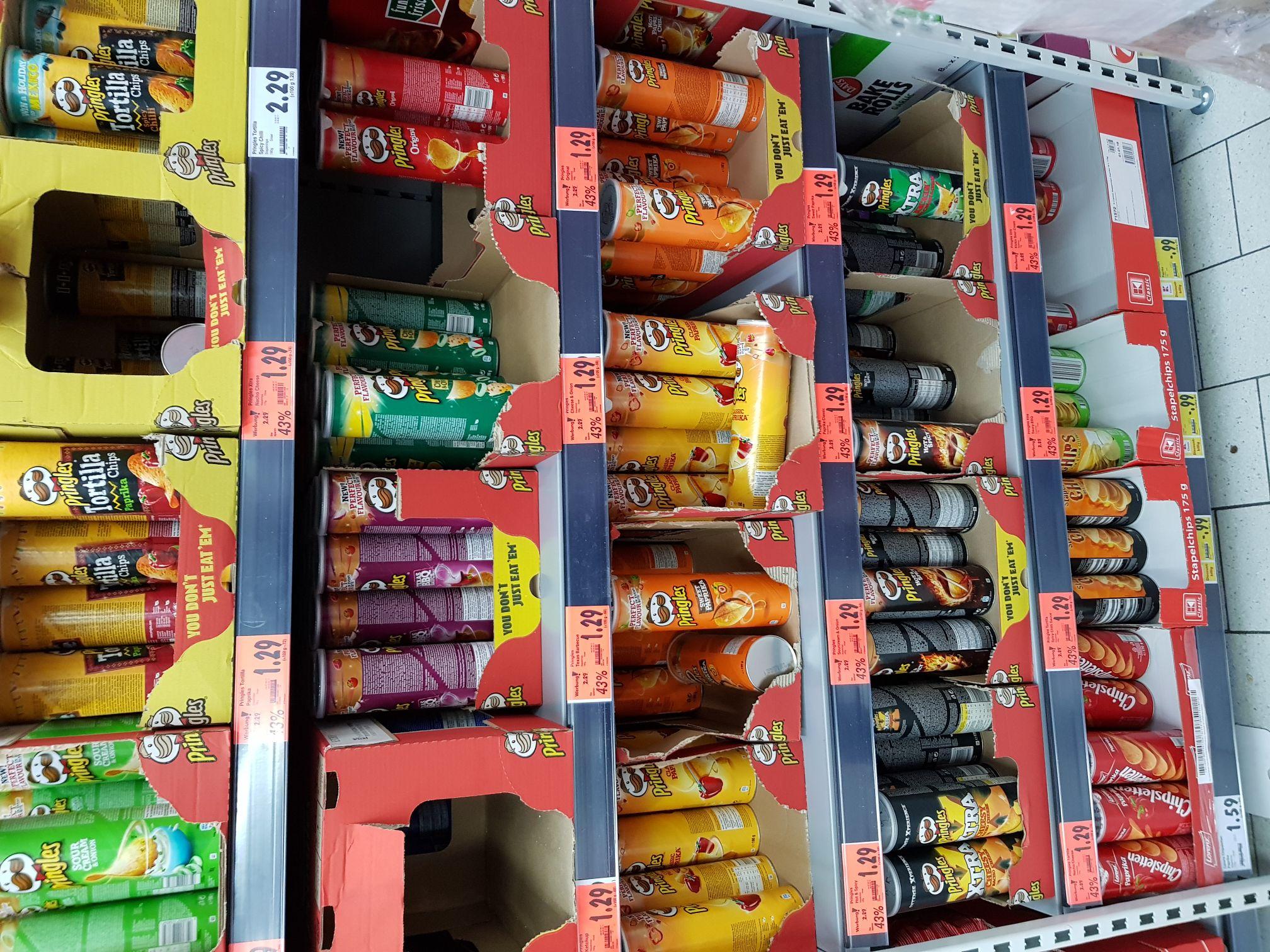 Kaufland Pringles für 1.29