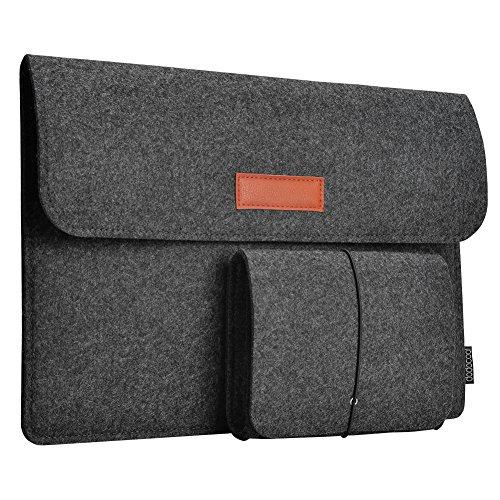 12/13,3 Zoll Filz Sleeve Hülle Ultrabook Laptop Tasche mit Gutschein für 6,99€ statt 8,99€ @Amazon