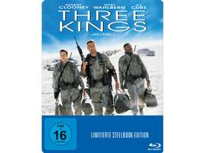 Three Kings (Exklusive Steelbook Edition) (Blu-ray) für 7,99€ versandkostenfrei (Media Markt)