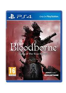 Bloodborne: Game of the Year Edition (PS4) für 27,60€ inkl. VSK (Base.com)
