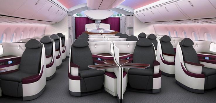 Business-Class - ab 1500€ von außerhalb Deutschlands nach Asien/Südafrika und Australien mit Qatar