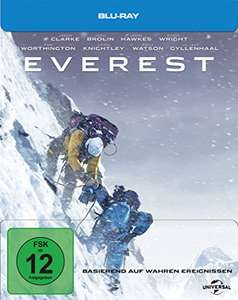 Everest - Steelbook Limited Edition (Blu-ray) für 7,55€ (Amazon Prime)