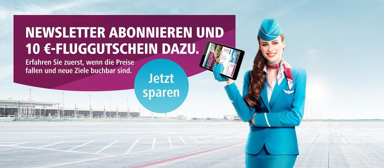 Eurowings: Viele reduzierte Tickets ab 19,99€