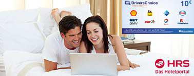 HRS.com: 10€ Gutschein auf alle Hotelbuchungen [ADAC-Mitglieder]