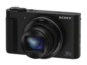 "Sony DSC-HX90 Kompaktkamera (18,2 MP, 3"" Display, 30x opt. Zoom Zeiss, Weitwinkelobjektiv, NFC, WiFi, 5-Achsen Bildstabilisator, Full HD-Video) schwarz"