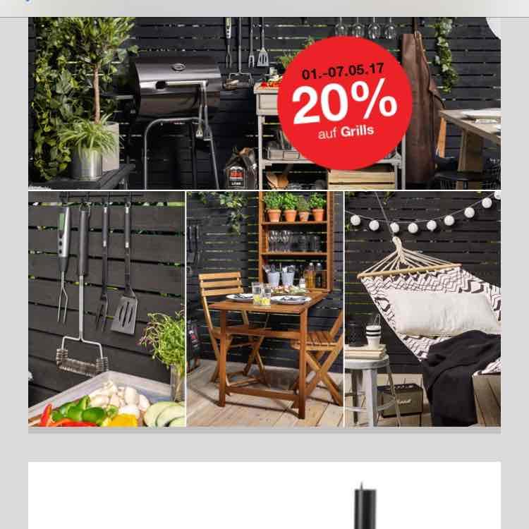 20% auf Grills Clas Ohlson Landmann Kepler 200 PVG 152,10€