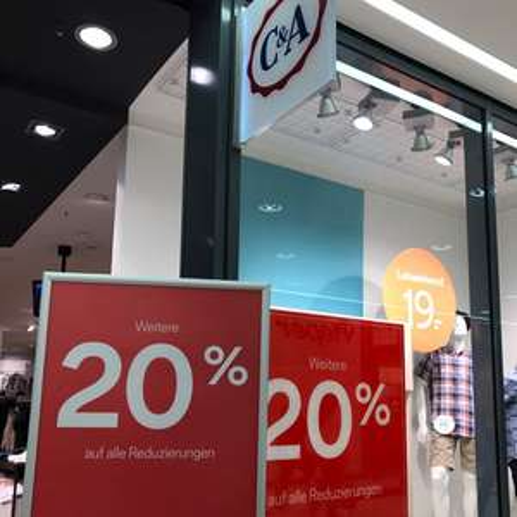 Lokal Bochum? C&A 20% auf alle Reduzierungen bis 29.04.17