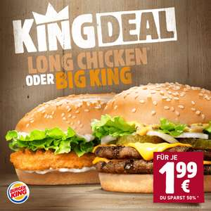 [Burger King] Big King für 1,99€