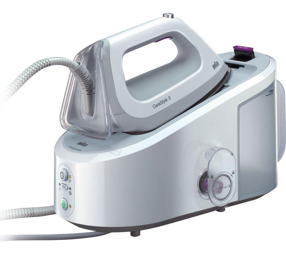 [yakodo] Braun CareStyle 3 IS 3044 Dampfbügeleisen, 6 bar Dampfdruck, Dampfleistung bis 120 g/Min