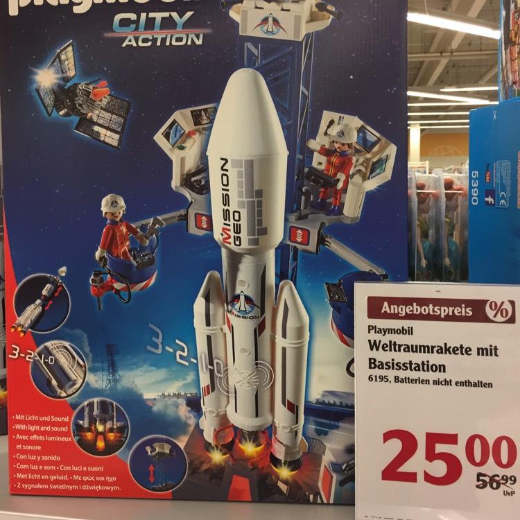 Playmobil City Action - Weltraumrakete (lokal?)