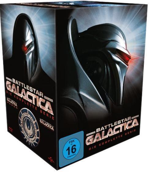 Battlestar Galactica: Die komplette Serie (Bluray) für 31,99€ [Thalia]