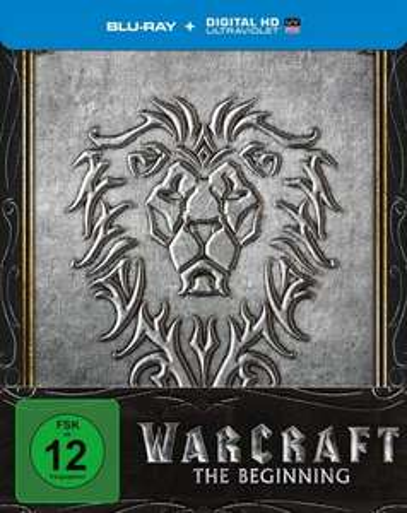 Warcraft - The Beginning (Bluray) STEELBOOK für nur 14,90€ + 1,99 Versand