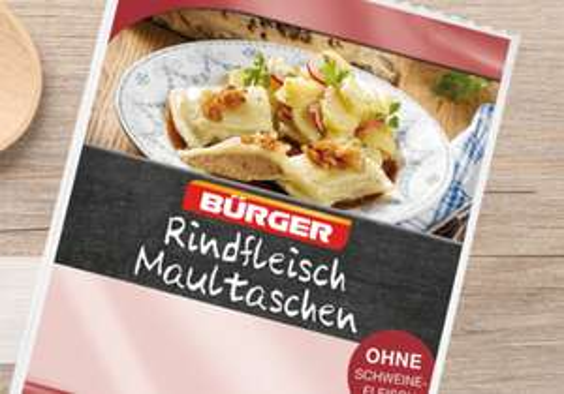 Kaufland [Mannheim] Bürger Rindfleischmaultaschen für 0,65€! [lokal]
