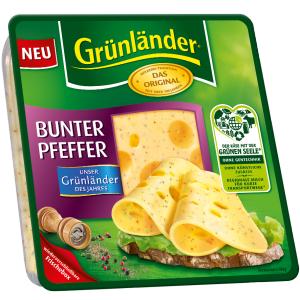 [Lokal Berlin Marienfelde Kaufland] Grünländer Käsescheiben, verschied. Sorten MHD 16.06.17