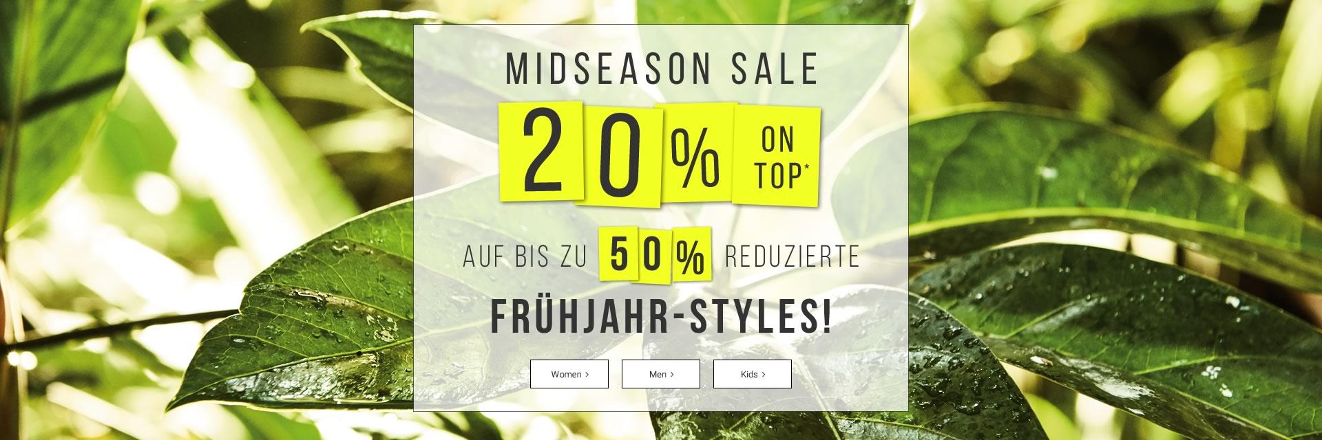 20% Extra Rabatt auf bis zu 50% reduzierte Frühjahr-Styles bei Tom Tailor
