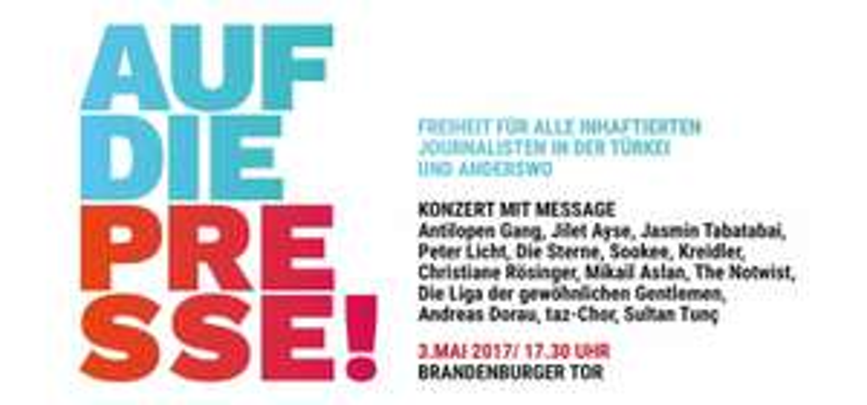 (Lokal Berlin) Gratis Solikonzert - u.A. Antilopen Gang, die Sterne, the Notwist, ... (Mi. 03.05.) #FreeDeniz