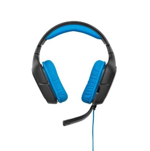 Amazon Angebot: Logitech G430 Gaming Kopfhörer, Dolby 7.1-Surround-Sound, blau