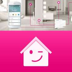 telekom smart home 2 jahre kostenlos home base heizk rperthermostat fensterkontakt. Black Bedroom Furniture Sets. Home Design Ideas