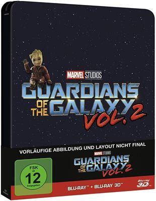 [Cede.de] Guardians of the Galaxy Vol. 2 [3D Blu-ray] [Limited Steelbook Edition] [Vorbestellung]