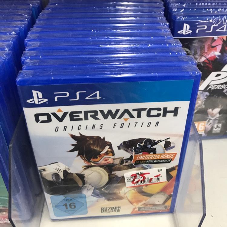 [Lokal Mediamarkt Jena] Overwatch Origins Edition (PS4) für 25€