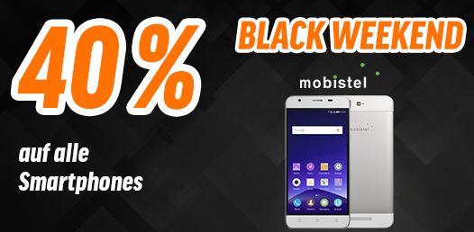 40% auf alle mobistel Smartphones bei Notebooksbilliger