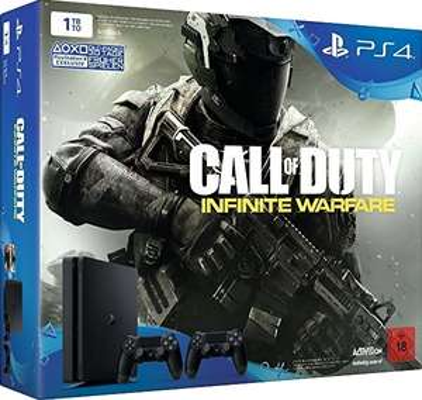[Würzburg][Woolworth]Playstation 4 Slim 1 TB+ Call of Duty Infinite Warfare + 2 Controller = 249€ oder PS4 Slim 1TB + Mafia 3 + 1 Controller=239€