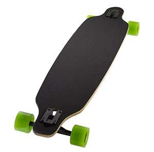 Ridge Skateboard Monster Twintip Longboard Drop Shape Low, Schwarz, One size, MR41-TWIN-TIP