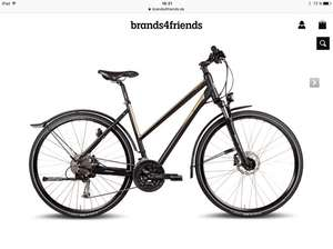 Steppenwolf Trekkingrad / Crossbike Toari 3.5 EQ Damen & Herren (Brands4Friends) für 406,98€