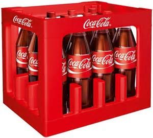 [Globus] Coca-Cola, verschiedene Sorten, 12 x 1,0l, für 7,44Euro und Mentos für 1,11 Euro