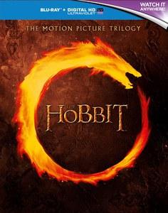 The Hobbit Trilogy - Mit englischer Tonspur auf Blu-ray mit UV-Digital Copy[Zavvi]