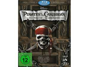 [Saturn] Pirates of the Caribbean 1-4 - (Blu-ray)